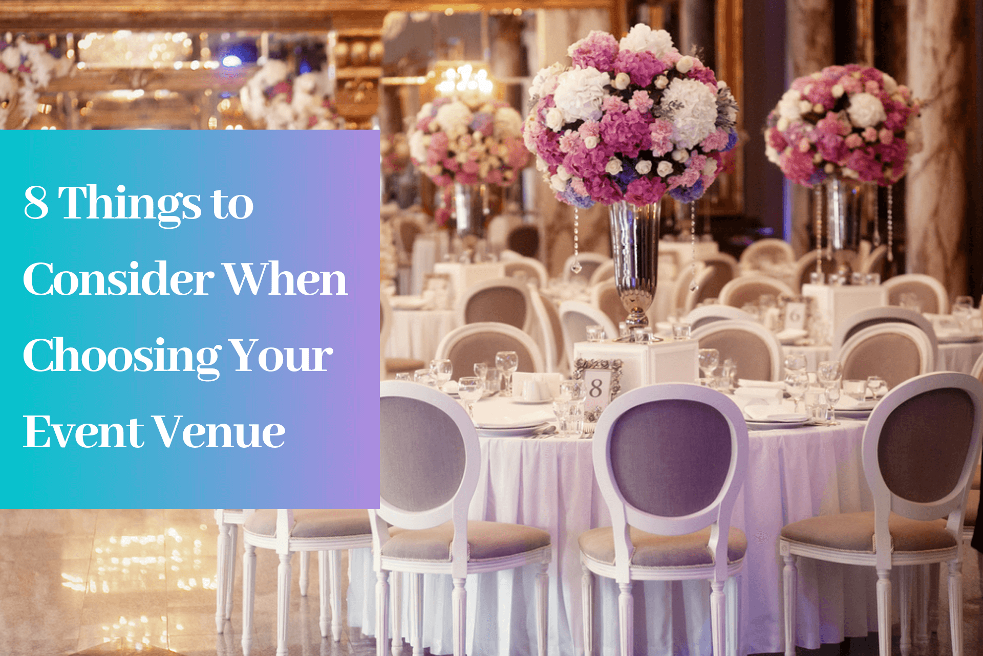 Choosing Event Venue near me