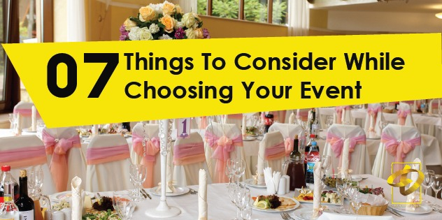 7 things to consider while choosing your event venue