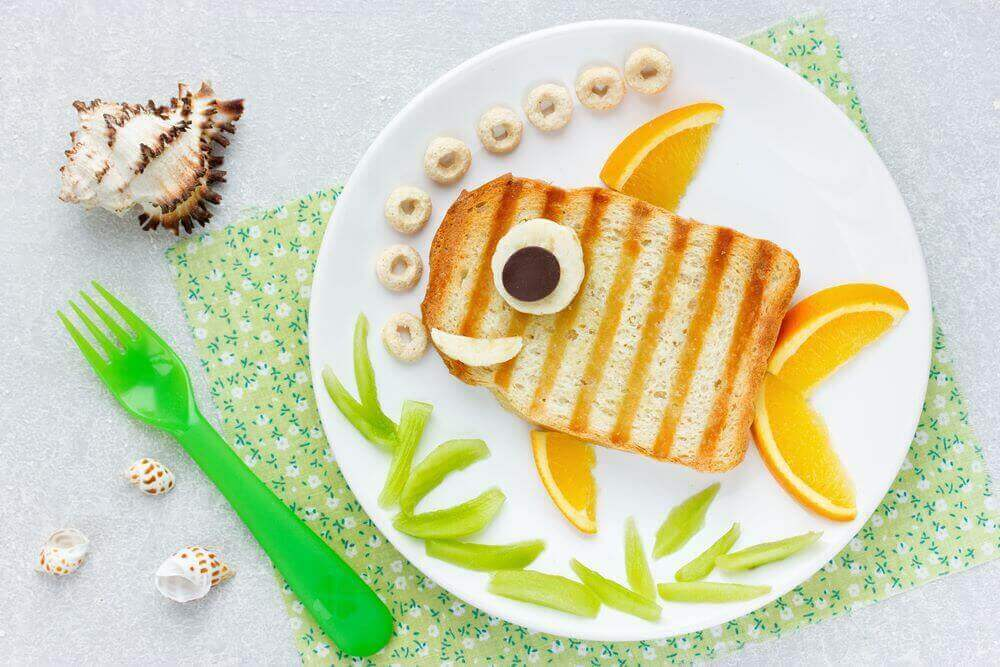 Get creative with foods on your kid's first birthday