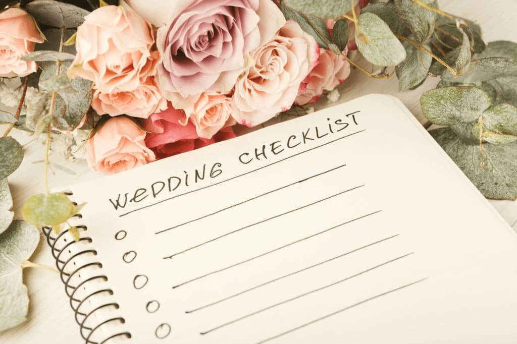 Wedding Checklist at at function venues Melbourne